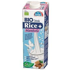 Bio rizsital mandulás The Bridge - 1000ml