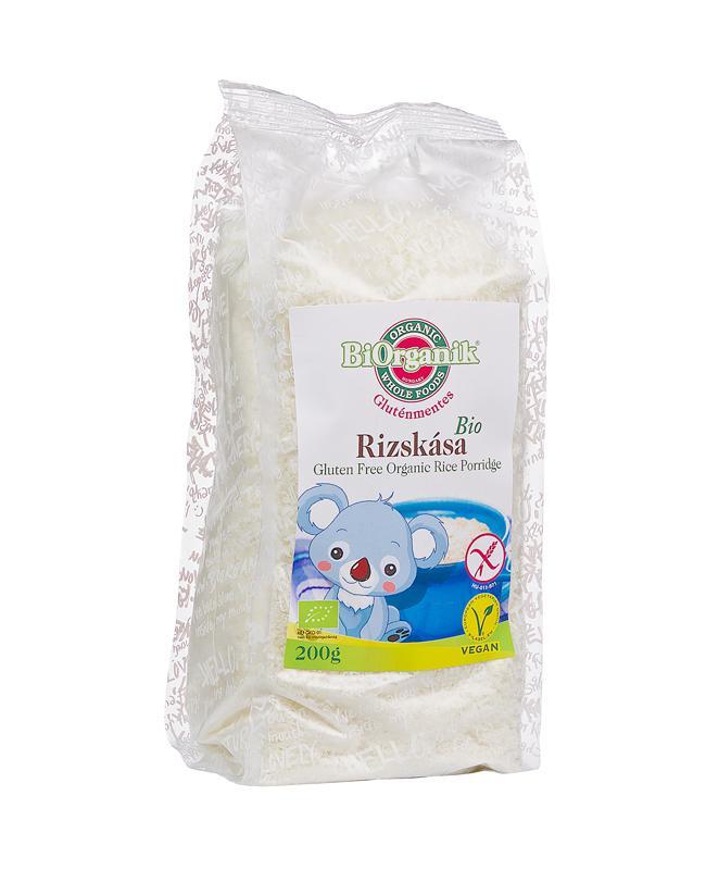 BiOrganik BIO gluténmentes rizskása 200g