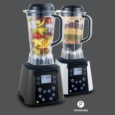 G21 Smart smoothie turmixgép, Vitality graphite black