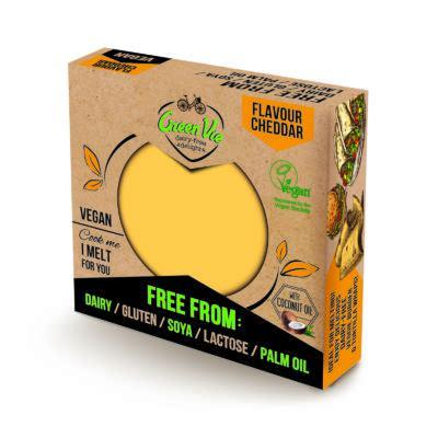 Green Vie cheddar növényi szendvicsfeltét 250g