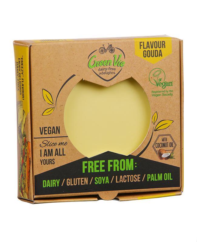 Green Vie gouda növényi szendvicsfeltét 250g