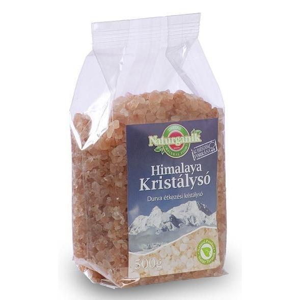 Himalája só rózsaszín durva - 500g