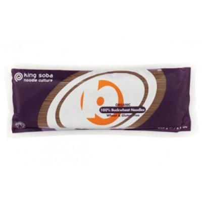 king soba BIO gluténmentes hajdina tészta 250g
