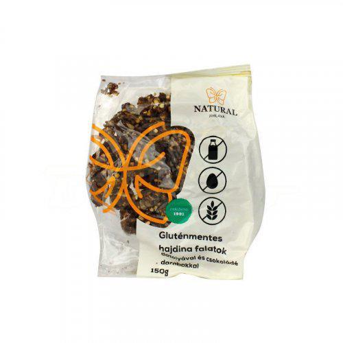 Natural gluténmentes datolyás csokis hajdinás falatok 150g