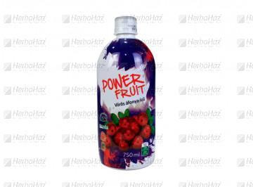 Power fruit steviás vörösáfonya ital 750ml