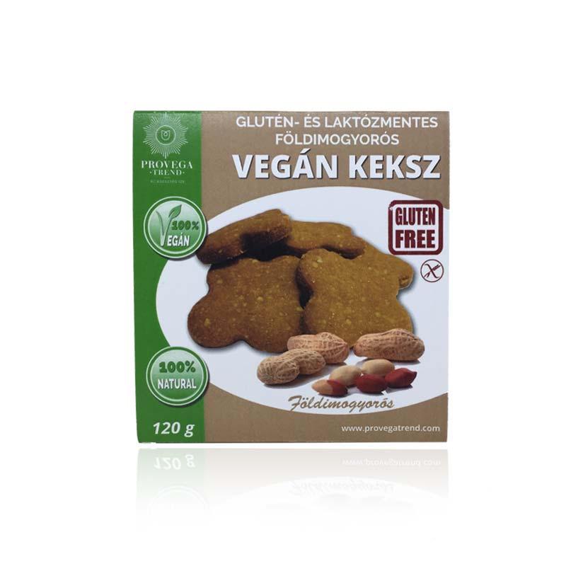 Provegatrend gluténmentes földimogyorós vegán keksz 120g