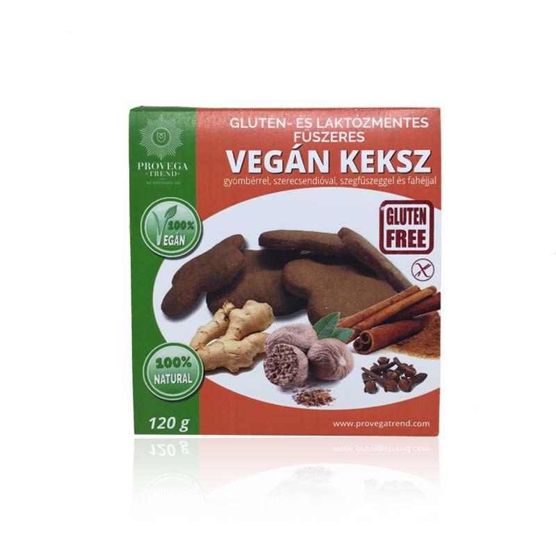 Provegatrend gluténmentes fűszeres vegán keksz 120g
