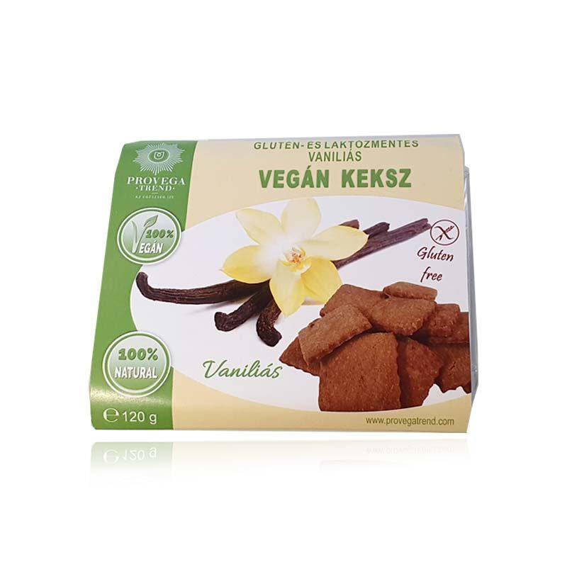 Provegatrend gluténmentes vaníliás vegán keksz 120g