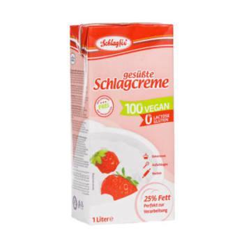 Schlagfix vegan habkrém 25% -édesített 1000ml