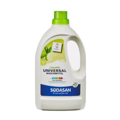 SODASAN BIO folyékony általános mosószer lime (fehér ruhákhoz) 1,5 liter