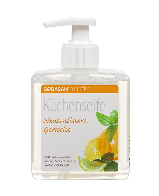 SODASAN BIO folyékony konyhai szagsemlegesítő szappan 300ml