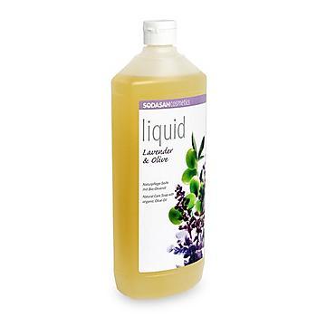 SODASAN BIO folyékony szappan levendula-olíva 1000ml