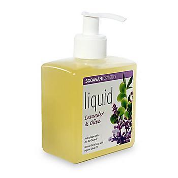 SODASAN BIO folyékony szappan pumpás levendula-olíva 300ml