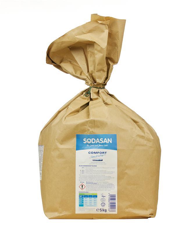 SODASAN BIO mosópor sensitiv 5kg