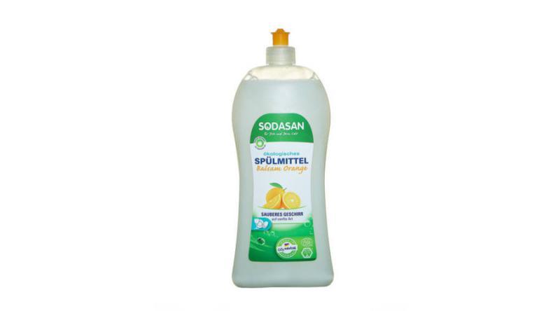 SODASAN ÖKO folyékony mosogatószer balzsam narancs 1000ml