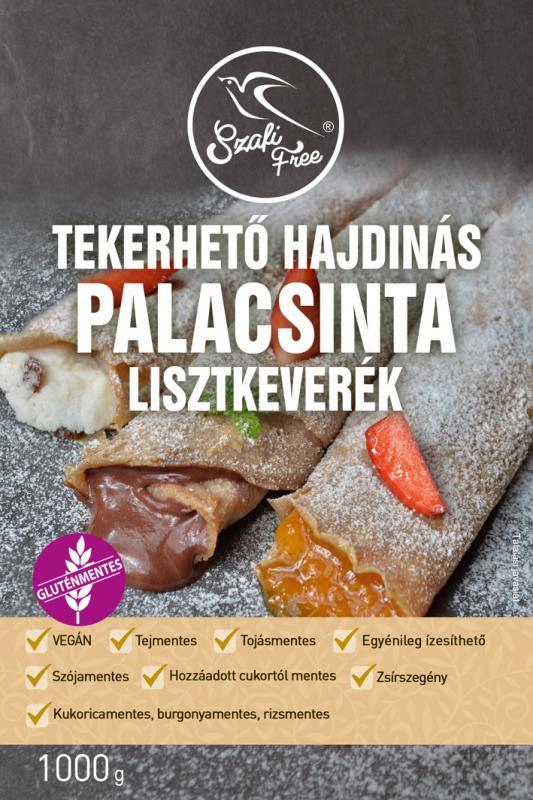SZAFI FREE GLUTÉNMENTES HAJDINÁS PALACSINTA LISZTKEVERÉK 1000G
