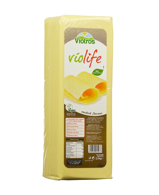 Violife füstölt növényi szendvicsfeltét 2,5kg