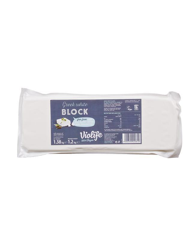 Violife görög fehér növényi szendvicsfeltét 1,2kg