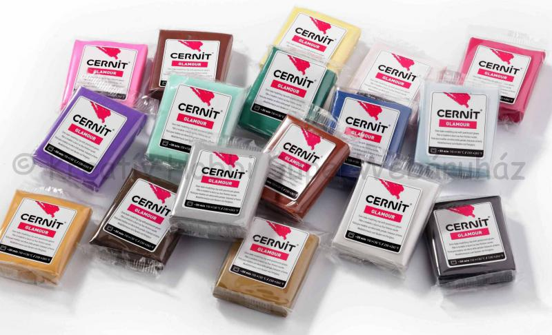 Cernit süthető gyurma 56 g glamour metál színek