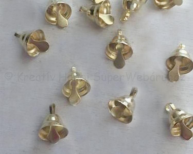 Csengő sárgaréz 5 mm, 10 db