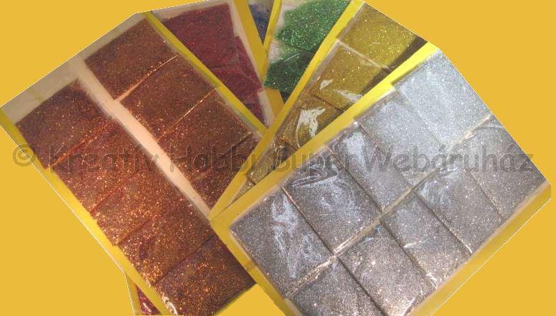 Csillámpor - glitter por 2,5 g