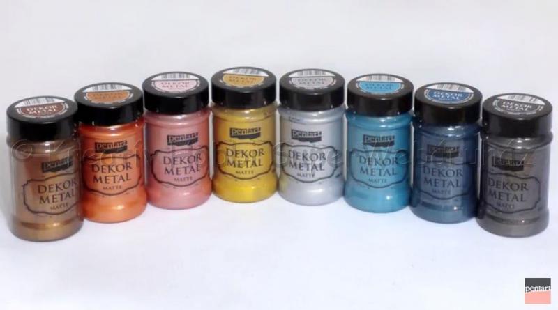 Dekormetál matt festék 100 ml