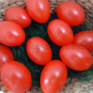 Műanyag tojás színes 6 cm, 10 db/cs
