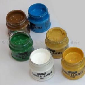 Textil és bőrfesték 50 ml VINTAGE színek
