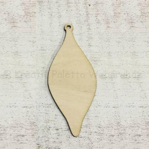 Falap - csepp karácsonyfadísz 12 cm