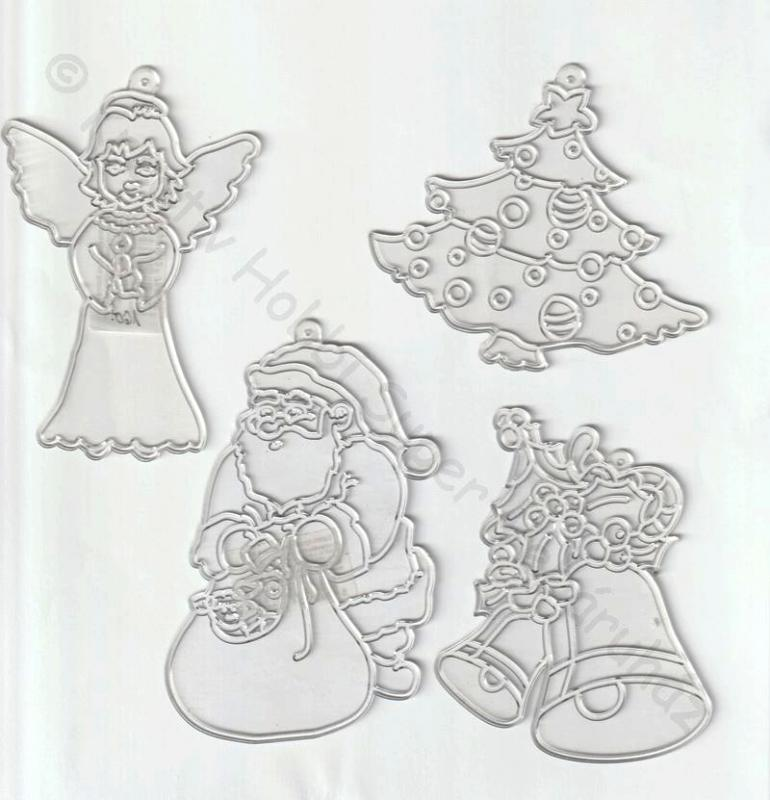 Fényvarázs - karácsonyi figurák többféle
