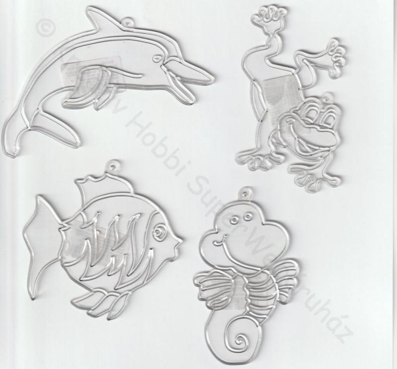 Fényvarázs - vizi állatok többféle