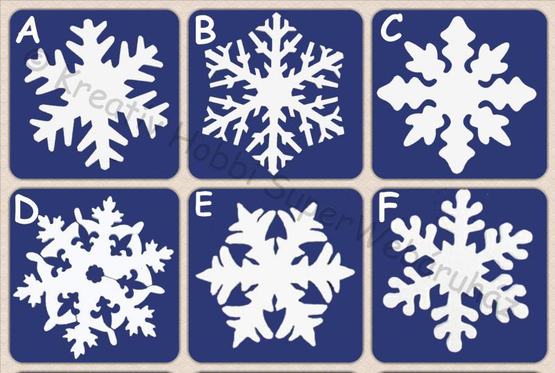 Hungarocell (polisztirol) hópehely 18 cm, 4 db/cs