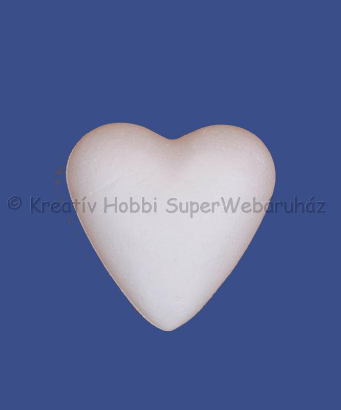 Hungarocell- polisztirol szív 11 cm