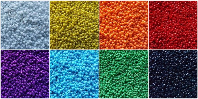 Kásagyöngy - selyemfényű 2 mm 15 g