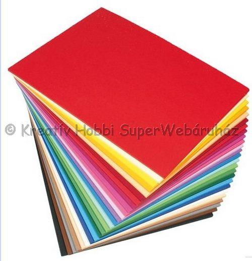 Kétoldalas fotókarton A/4 300 g/m² - többféle szín