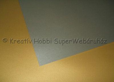 Kétoldalas tónuskarton 50 x 70 cm 220 g/m²,  - ezüst