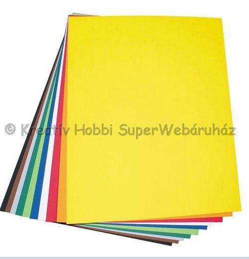 Kétoldalas tónuskarton 50 x 70 cm 220 g/m² - többféle szín