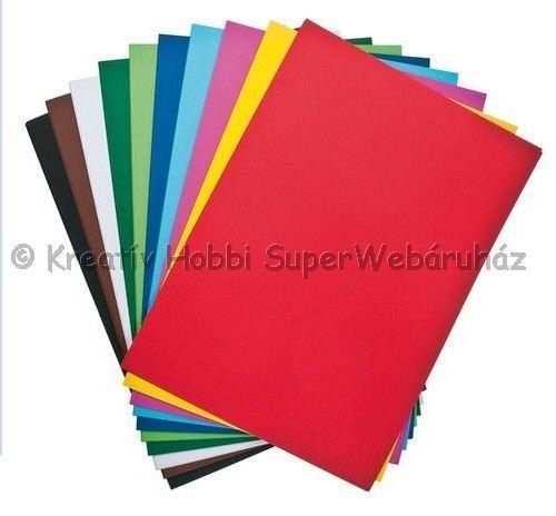 Kétoldalas tónuskarton A/4 160 g/m² - többféle szín