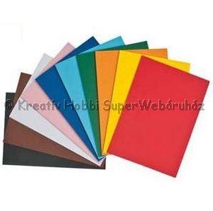 Kétoldalas tónuskarton A/4 220 g/m² - többféle szín