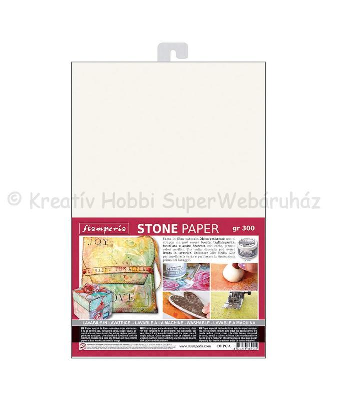 Kőpapír - varrható, mosható szuper papír, A4, 300 g