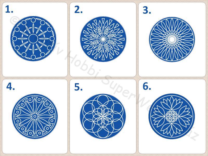 Mandala többféle 1.