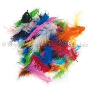 Marabu toll 5-10 cm vegyes színek 2,5 g, kb. 30 db