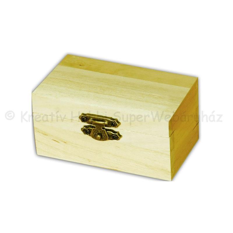 Mini fadoboz kincsesládika 9 x 4,7 x 5,5 cm