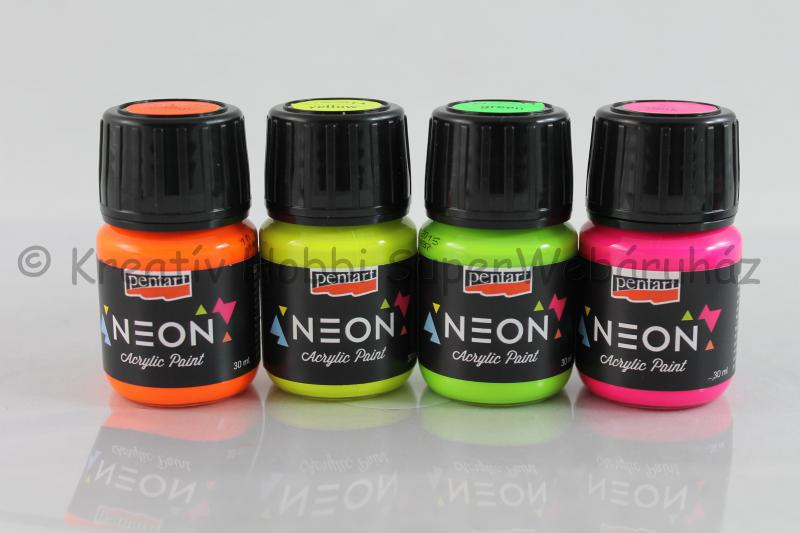 Neon akrilfesték 30 ml