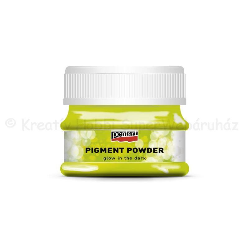 Pigmentpor 12 g  SÖTÉTBEN VILÁGÍTÓ