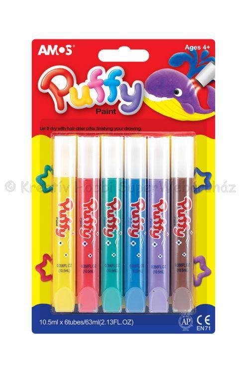 Puffy festék AMOS 6 x 10,5 ml