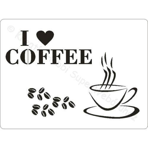Sablon A/5 kávé