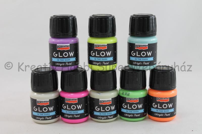 Sötétben világító festék 30 ml - Glow in the dark