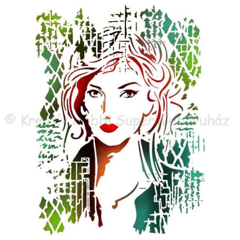 Stencil G, 21 x 29,7 cm - női kép