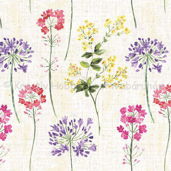 Szalvéta - apró virágok - Trentham
